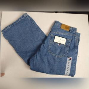 Tommy Hilfiger Boyfriend Light Wash Jeans Sz 8L